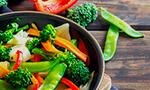 Cocina con menos grasas o aceite